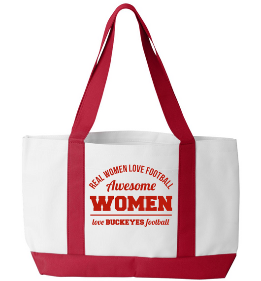 Awesome Buckeyes Woman Tote Bag