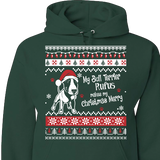 Bull Terrier - Ugly Christmas Sweatshirt Personalized