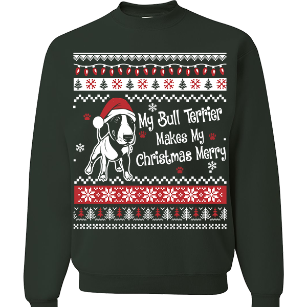 Bull Terrier - Ugly Christmas Sweatshirt