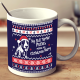 Bull Terrier - Ugly Christmas Mug Personalized