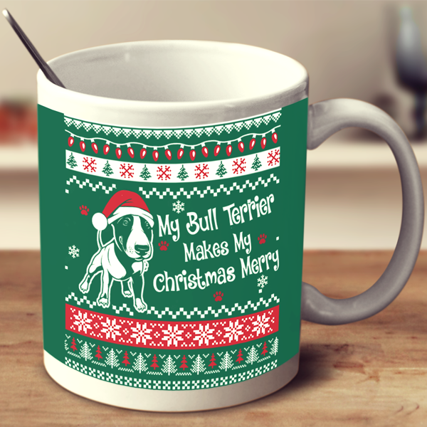 Bull Terrier - Ugly Christmas Mug