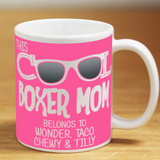 Cool Boxer Mom - Mug Personalized