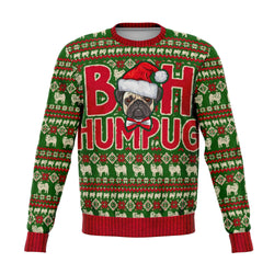 Ugly Christmas sweatshirt for pug lovers