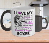 I Love My Boxer - Color Changing Mug