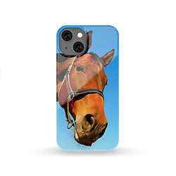 Personalized Phone case of Horse cartoonized