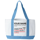 Registered Nurse - Soft Enough - Tote Bags - Personalized