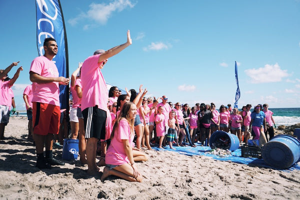 Deerfield Beach Breast Cancer Cleanup