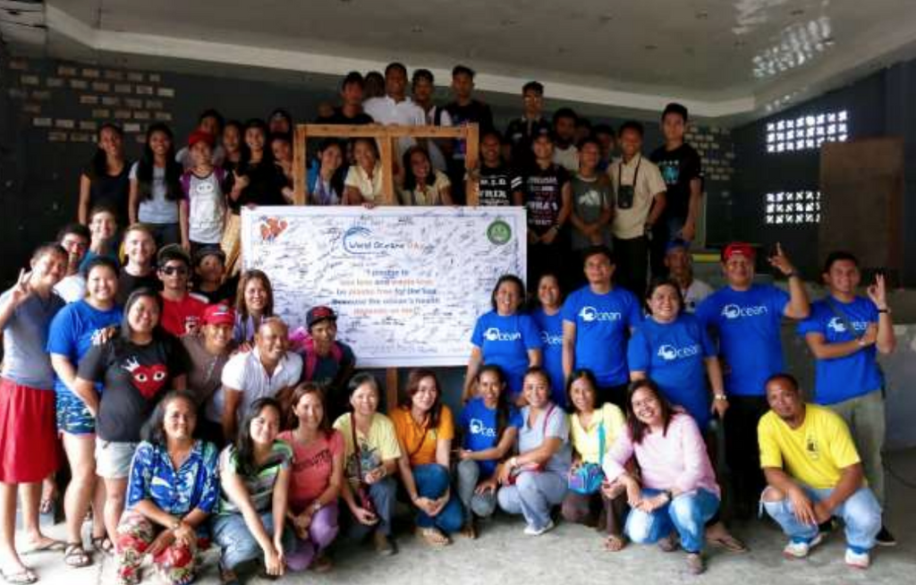 The Philippines World Oceans Day Cleanup