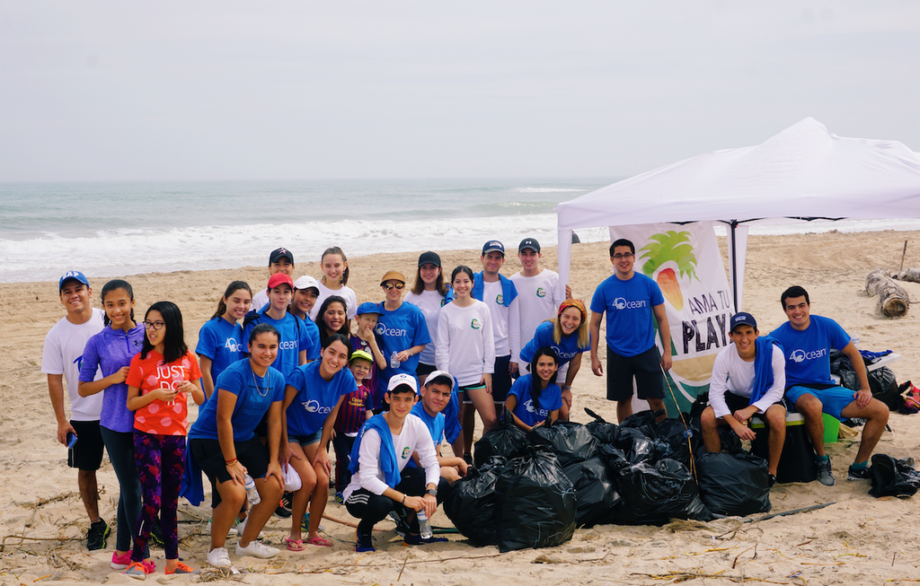 Mexico Cleanup with Ama Tu Playa