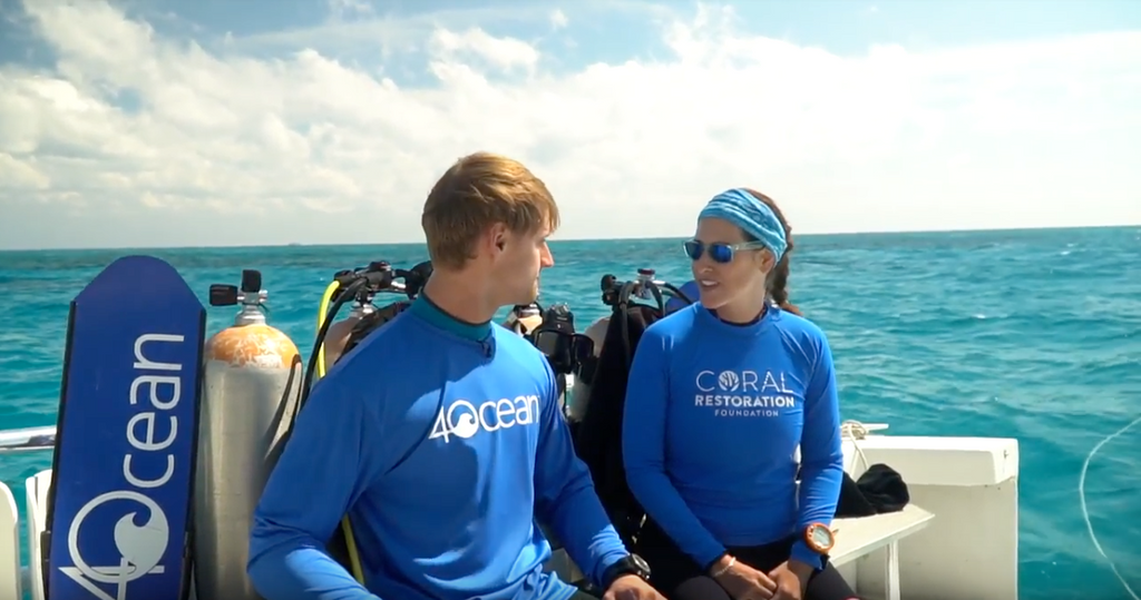 How is 4Ocean Working With the CRF?