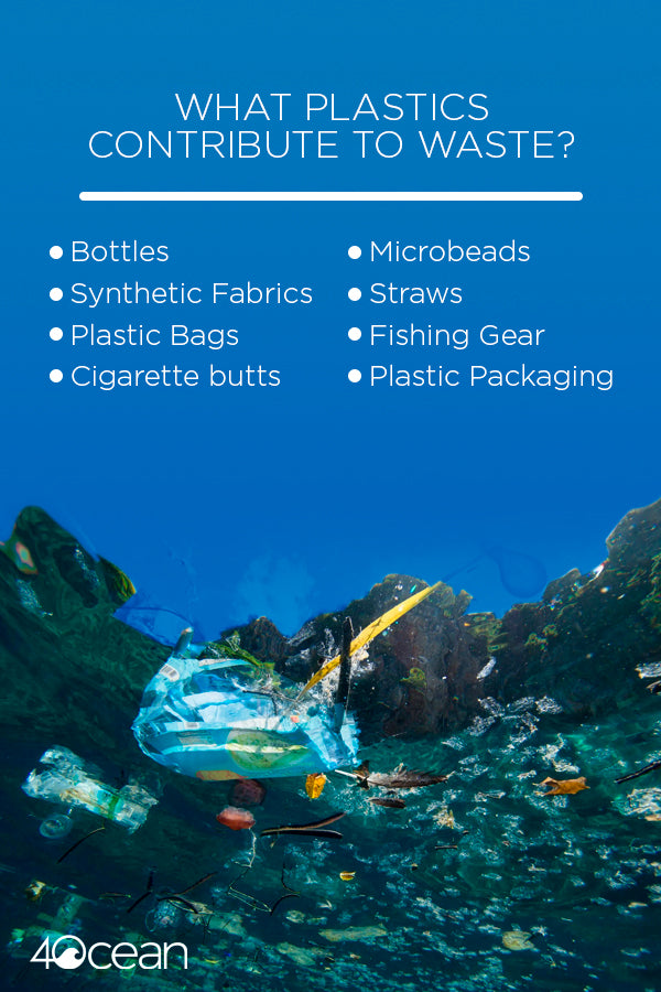 plastics that contribute to ocean plastic