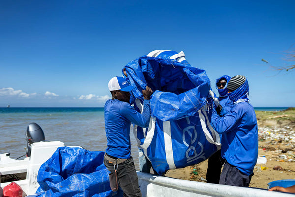 4ocean Haiti Crew Heads Out to Clean the Ocean and Coastlines