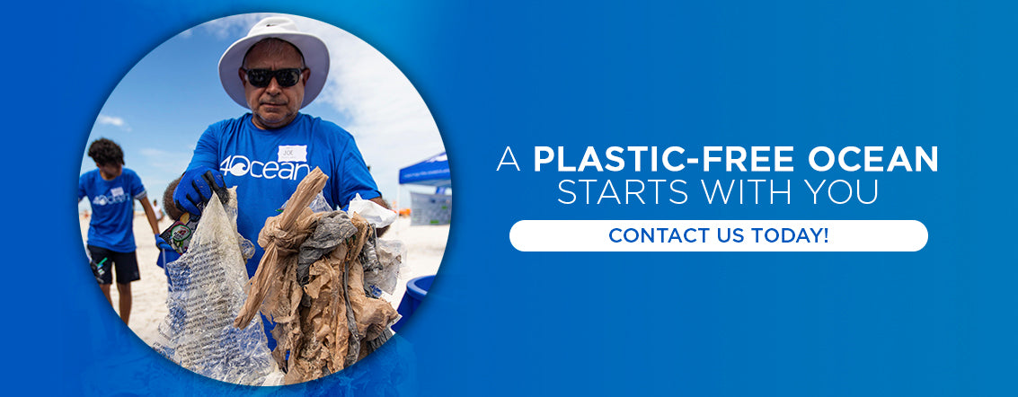 a plastic free ocean starts with you