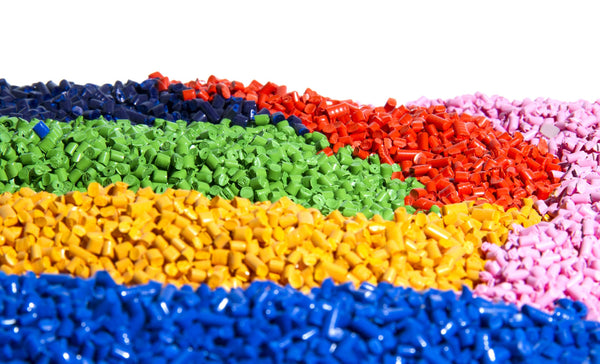 Plastic Nurdles Come in Many Colors