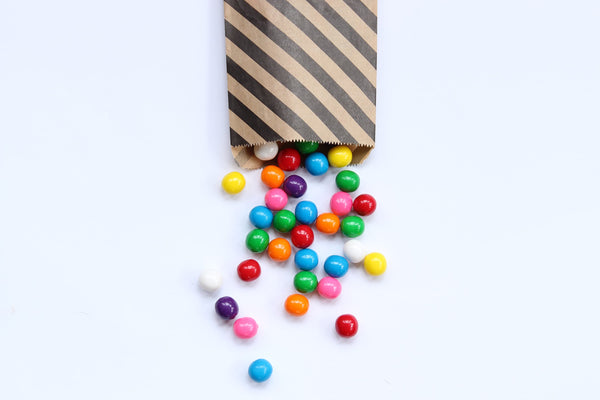 Candies Bought in Bulk in Paper Bag