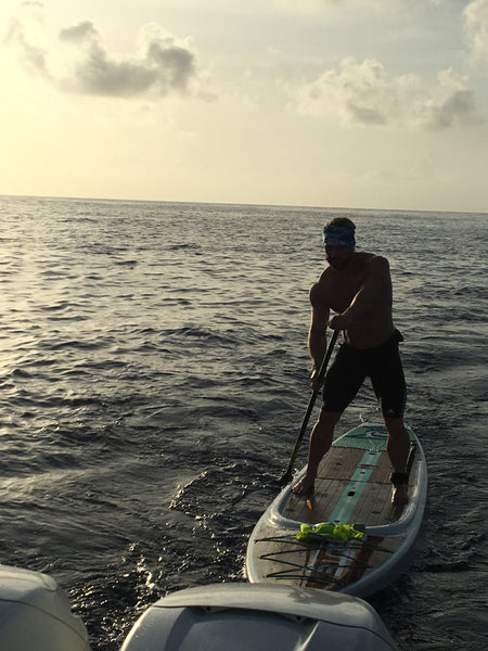 Ben Mudge on Paddleboard Crossing for a Cure