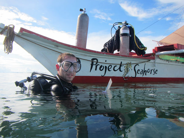 Project Seahorse doing underwater science in the Philippines