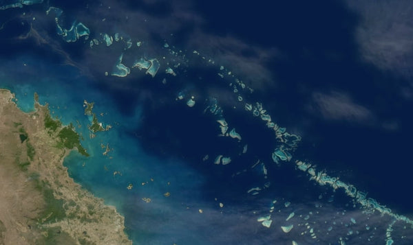 Great Barrier Reef Image from Space