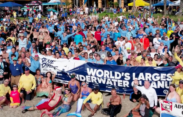 4ocean Guinesss World Record Largest Underwater Cleanup