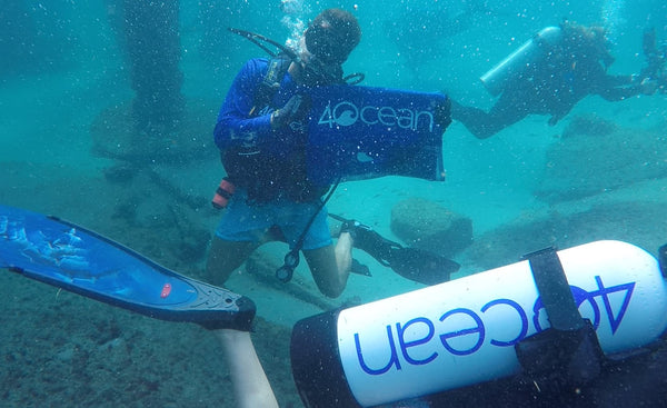 4ocean Attends Guinness World Record Largest Underwater Cleanup