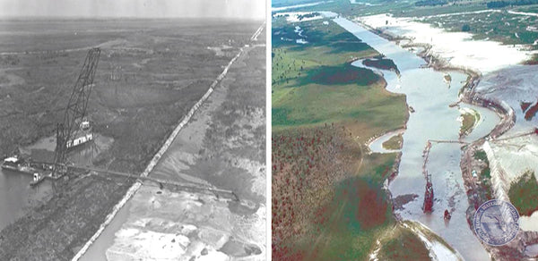 Kissimmee River Dredging and Channelization