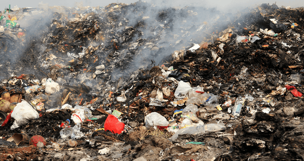 Garbage and Plastic Burning