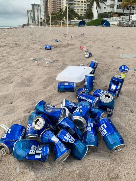 Spring Break Trash