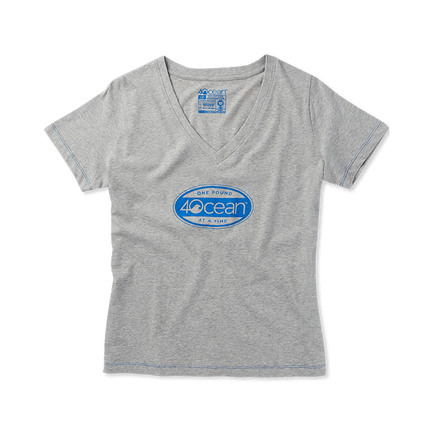 4ocean Surfer Badge Women's V-Neck T-Shirt