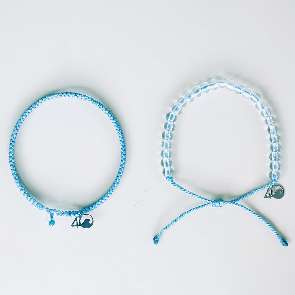 4ocean Jellyfish Beaded and Braided Bracelet 2-Pound Pack laydown
