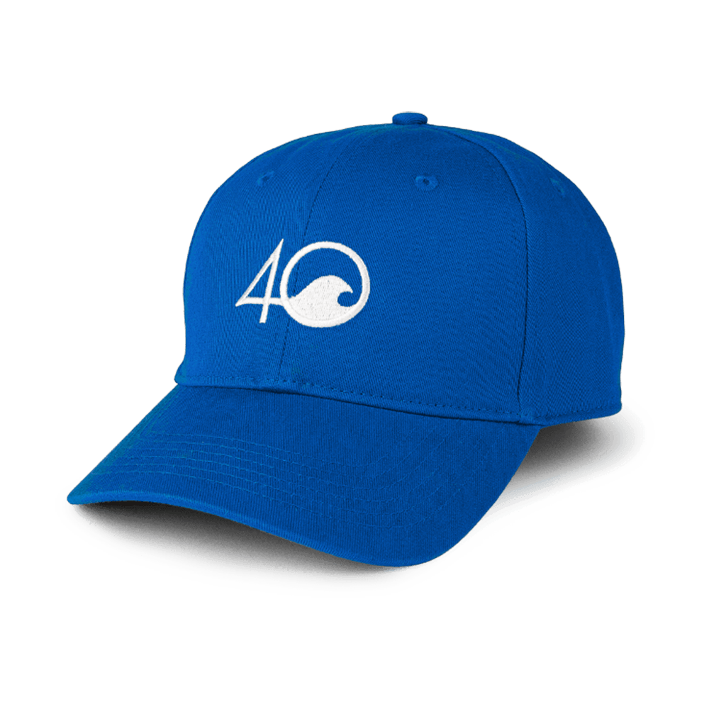 4ocean low profile 4O logo hat