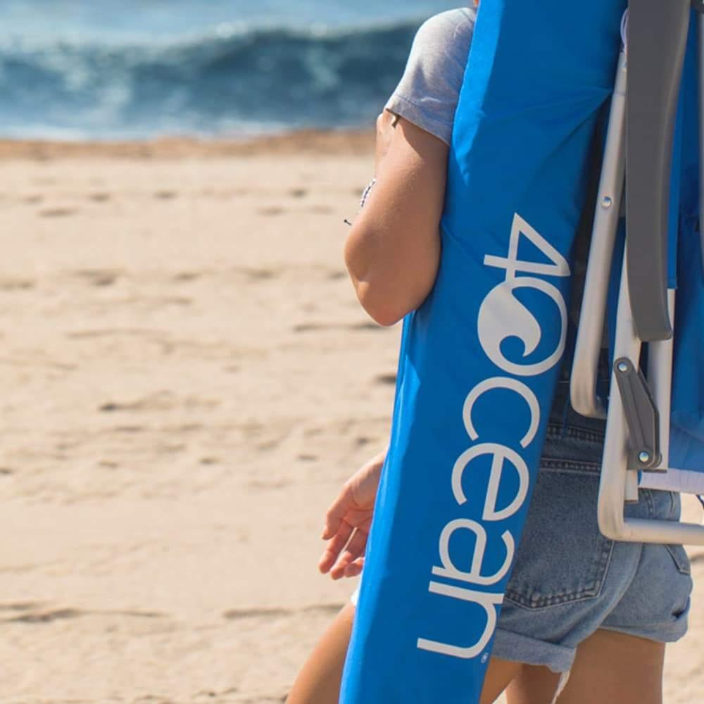 4ocean Signature Beach Umbrella - Folded Up