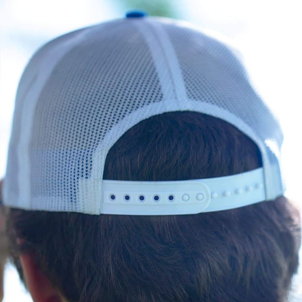 Back View of the 4ocean Logo Classic Trucker Hat  - Snap Back