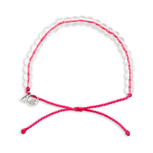 4ocean Pink Flamingo Beaded Bracelet