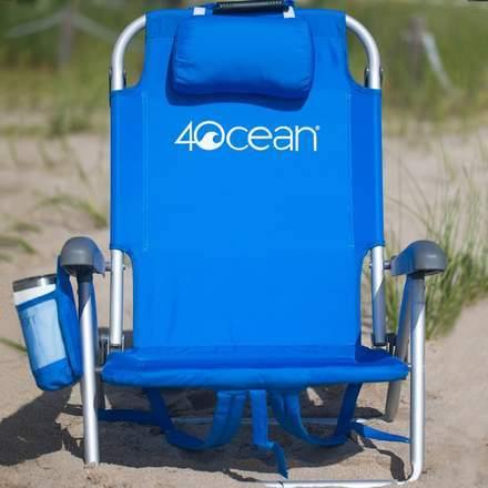 4ocean Beach Lovers Trio - Layflat Backpack Beach Chair