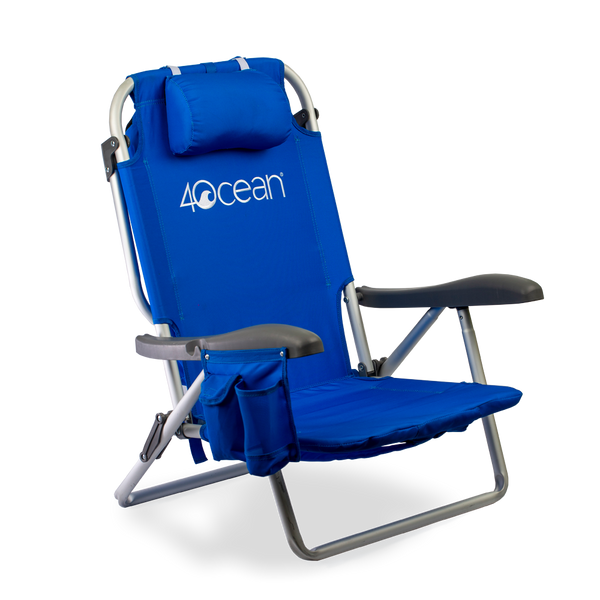 4ocean Signature Backpack Beach Chair with Cooler featured image