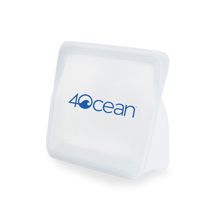 4ocean x Stasher Reusable Storage Bag