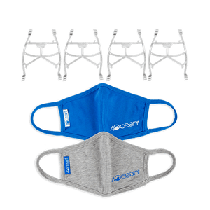 4ocean Face Mask + Support Frame Pandemic Pack