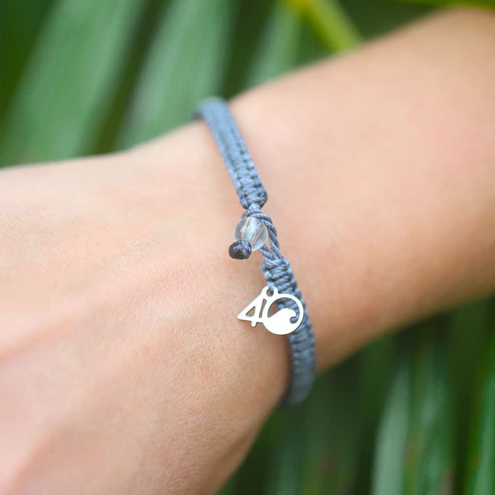 A Person Wearing the 4ocean Galapagos Sea Lion Braided Bracelet
