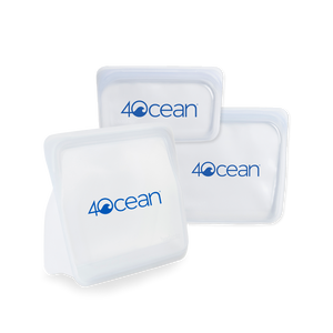 4ocean x Stasher Reusable Storage Bags