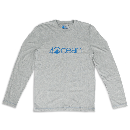 4ocean Logo Long Sleeve T-Shirt