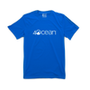4ocean logo unisex men's and women's t-shirt - blue