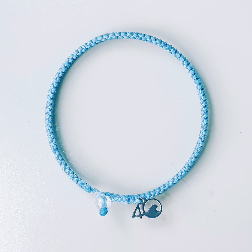 4ocean Jellyfish Braided Bracelet Laydown