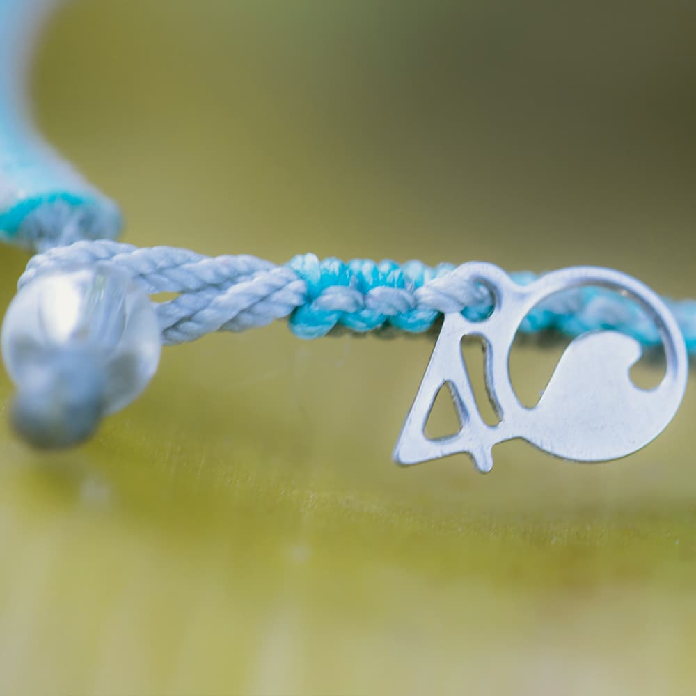 4ocean Dolphin Braided Bracelet Close-up