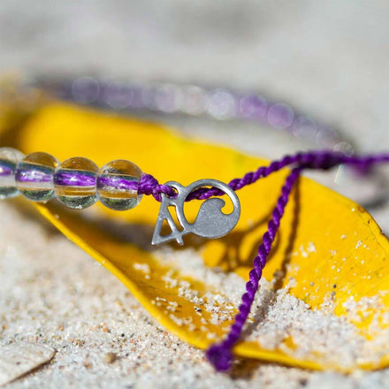 Hawaiian Monk Seal Beaded Bracelet