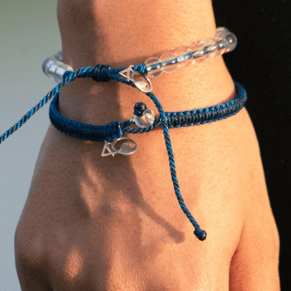 Sperm Whale Braided Bracelet