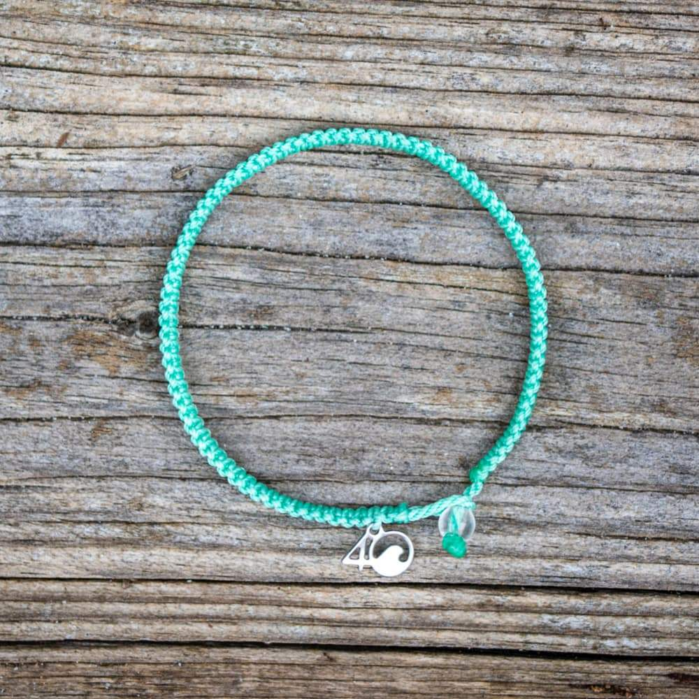 Loggerhead Sea Turtle Braided Bracelet