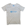Women's 4ocean Logo V-Neck T-Shirt - Grey