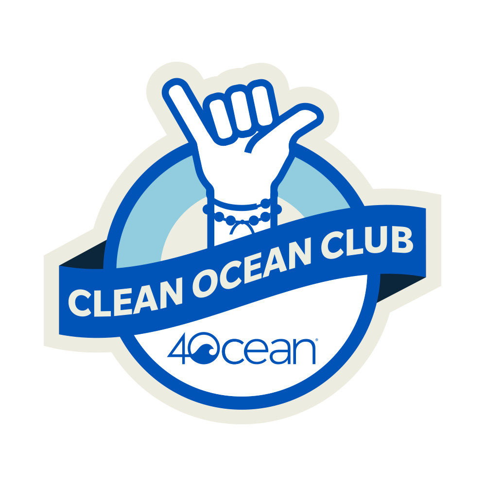 4ocean Clean Ocean Club Braided Bracelet Subscription Program