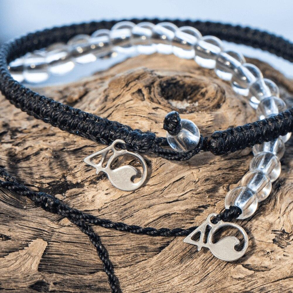 The Clean Ocean Club Beaded and Braided Bracelet 2-Pound Pack Subscription Program Closeup