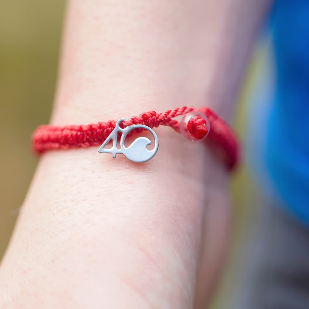 Coral Reef Braided Bracelet